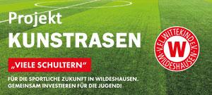 Projekt Kunstrasen VfL Wittekind e.V.